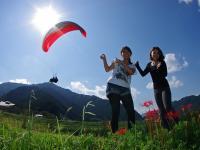 京阪神からアクセスGOOD!パラグライダー初体験はフライト確立の高い岩屋山で!