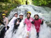 コース中にはこんな激流もあります!ものすごい水の流れにびっくり!?
