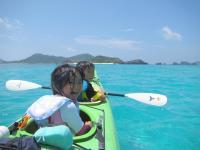 お子さんと楽しめるタンデム艇