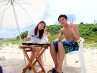 幻の島やパナリ島など、有名スポットにも寄り道。ビーチ過ごす優雅なランチ付きです。