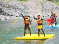 素猿(スモンキー)オリジナルの筏!TATAMIで楽しさ百倍です!