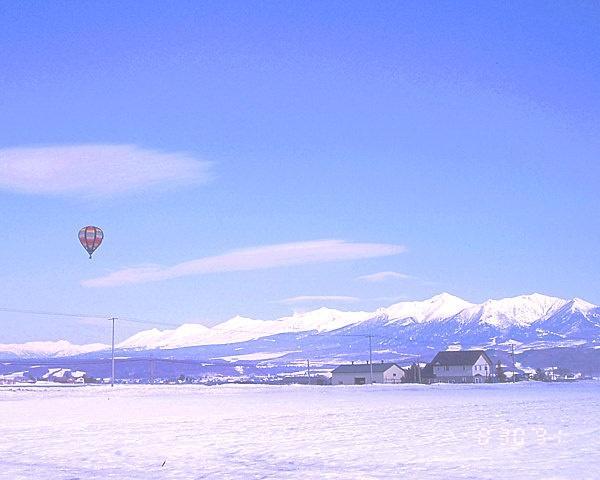 富良野・熱気球フリーフライト