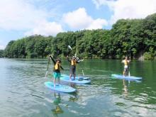 川辺ダム湖(飛騨川・飛水湖) SUPツアー