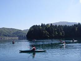 青木湖 カヌー・カヤックツアー