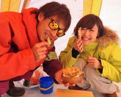 北海道・南富良野(かなやま湖)ワカサギ釣り