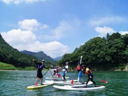 みなかみ(赤谷湖) SUPツアー