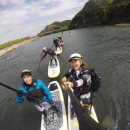 球磨川リバーSUP