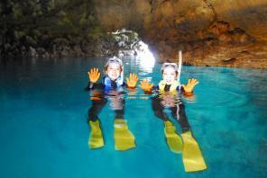 青の洞窟・探検シュノーケリング♦水中カメラ無料レンタル