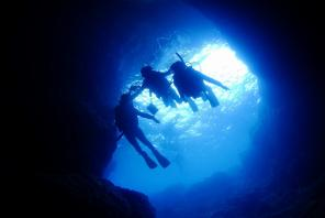 青の洞窟・体験ダイビング♦水中カメラ無料レンタル