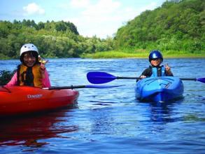 小学生から参加OK!ご家族で川下りが楽しめます。