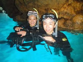 【6歳からOK!完全貸切で楽しめる!】 青の洞窟シュノーケリング ◆写真付!