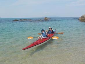 360°海に囲まれた屋久島の風景