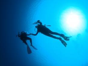 【神秘的な青い光に癒される】青の洞窟体験ダイビング◆写真つき