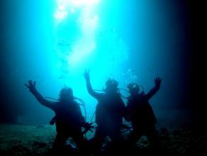 《完全貸し切り制・らくらくボート開催》青の洞窟体験ダイビング◆写真つき