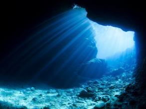 【早起きしていく!】 青の洞窟早朝ビーチ体験ダイビング◆写真つき