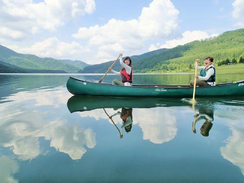 南富良野 かなやま湖カヌーツアー