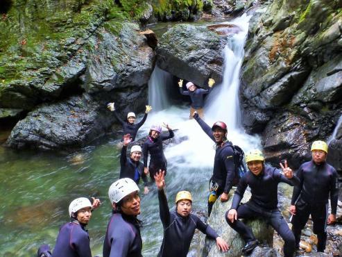 滋賀シャワークライミングツアー