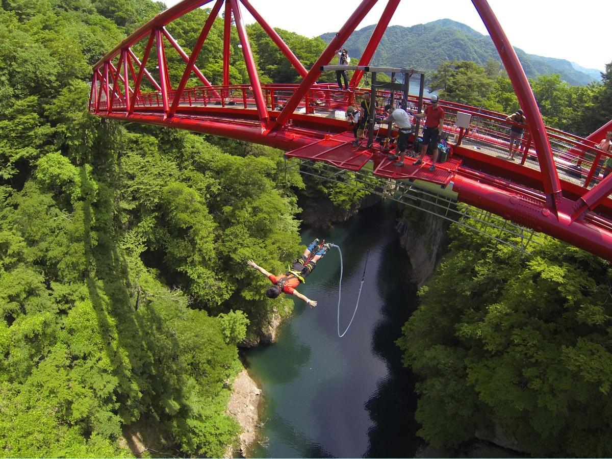 猿ケ京バンジージャンプ
