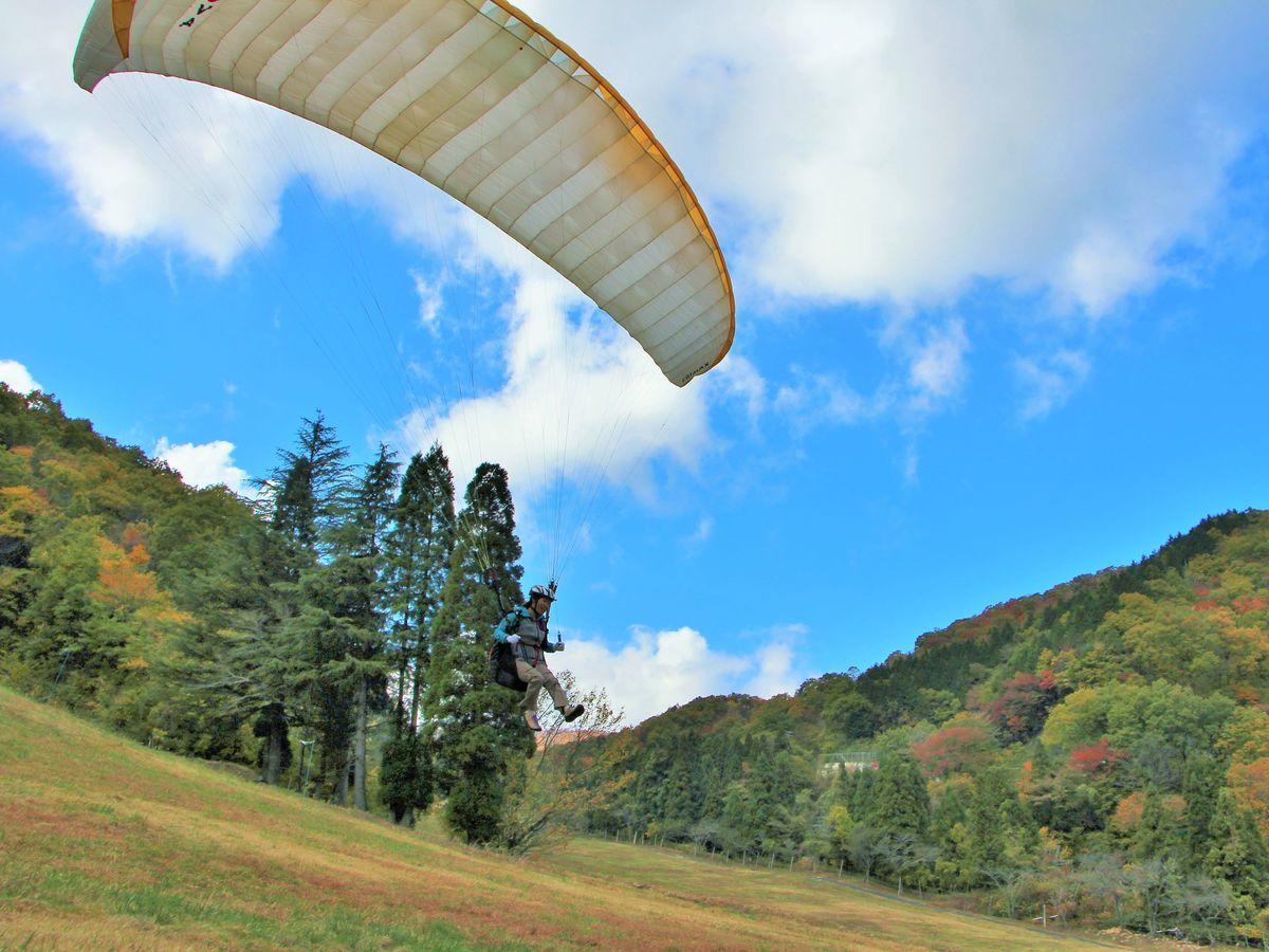 揖斐高原パラグライダー
