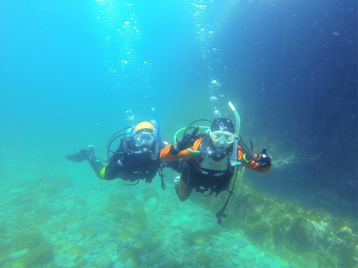積丹 体験ダイビング