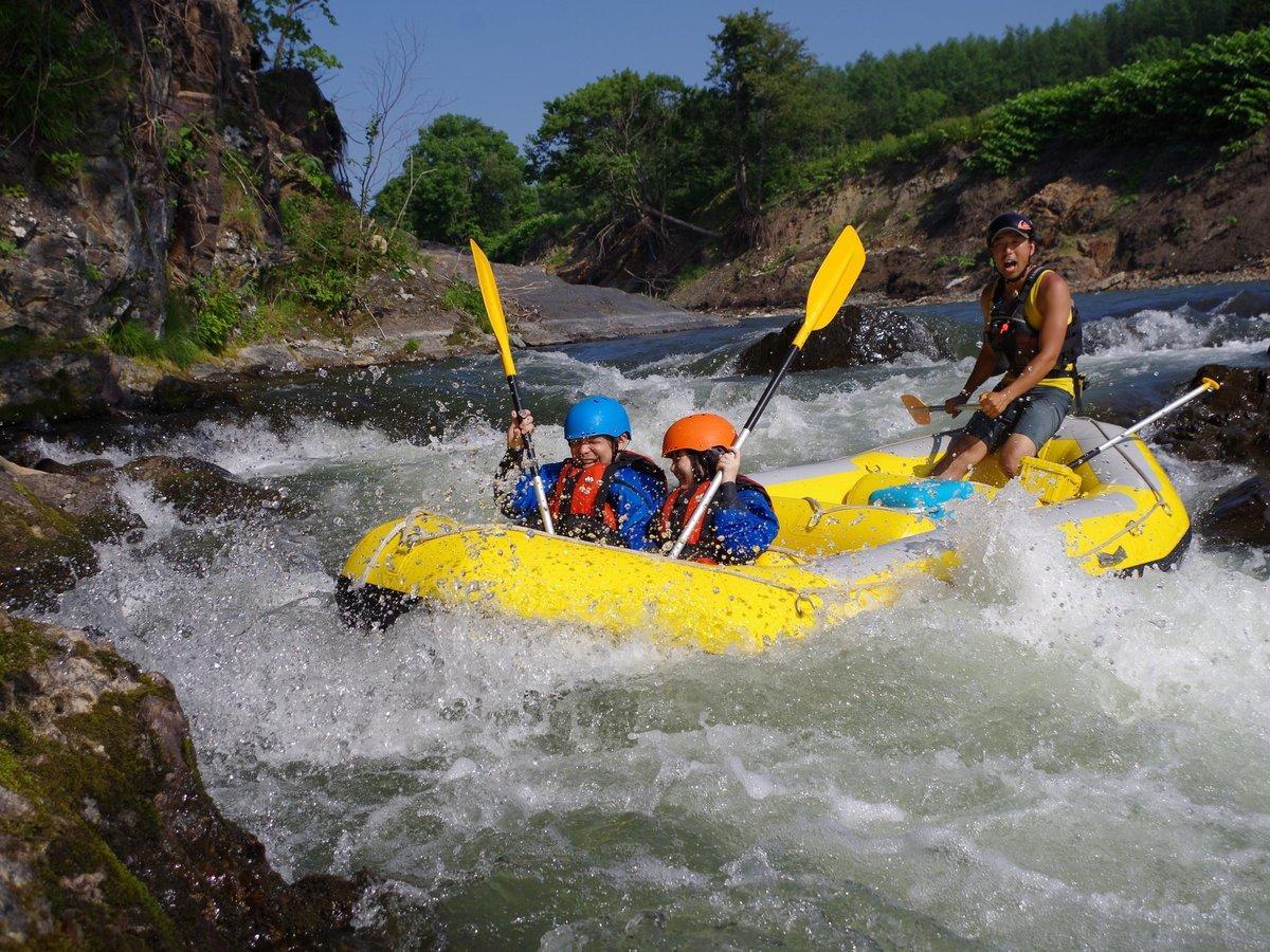 南富良野(シーソラプチ川) ラフティングツアー
