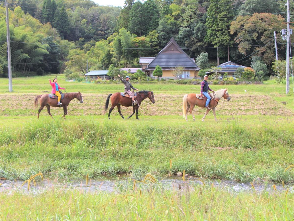 京都府・京丹波ホーストレッキング(乗馬)