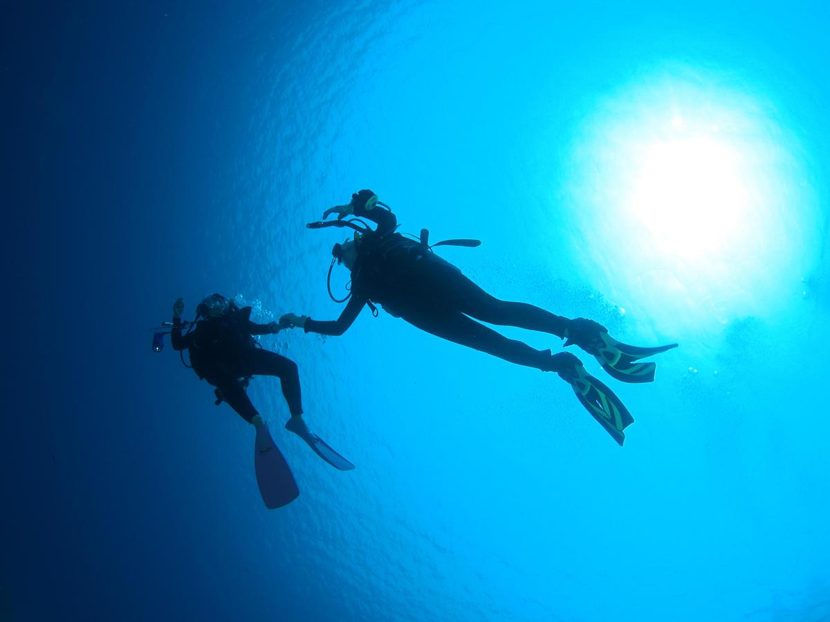 沖縄本島 体験ダイビング