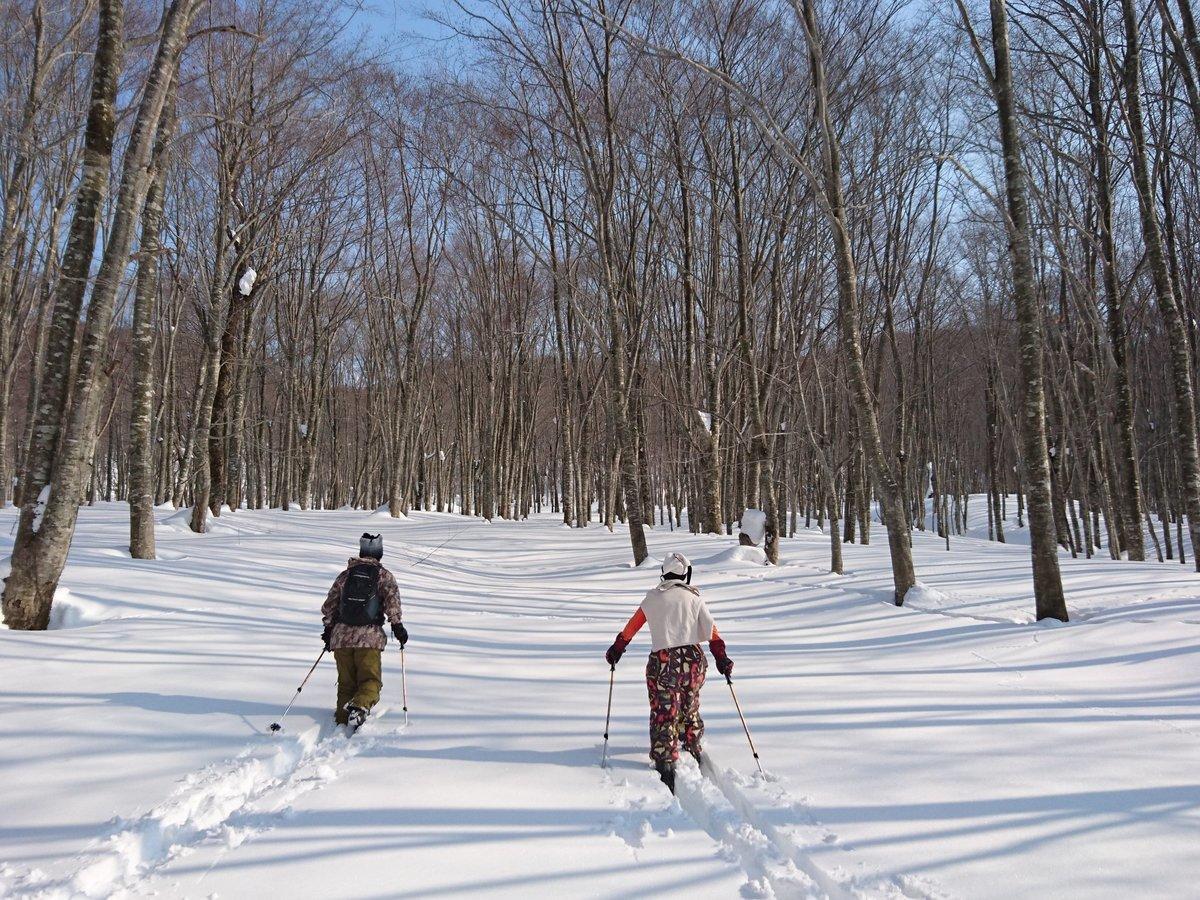田沢湖(乳頭温泉周辺) 歩くスキーツアー