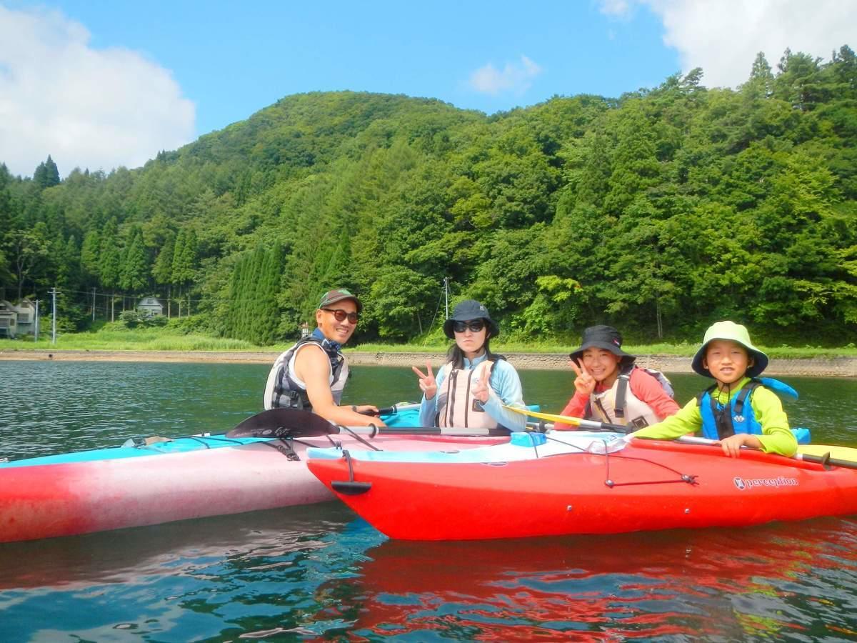 野尻湖 カヌー・カヤックツアー