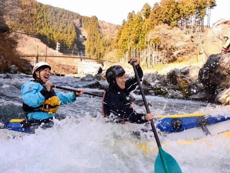多摩川 (奥多摩) ダッキーツアー