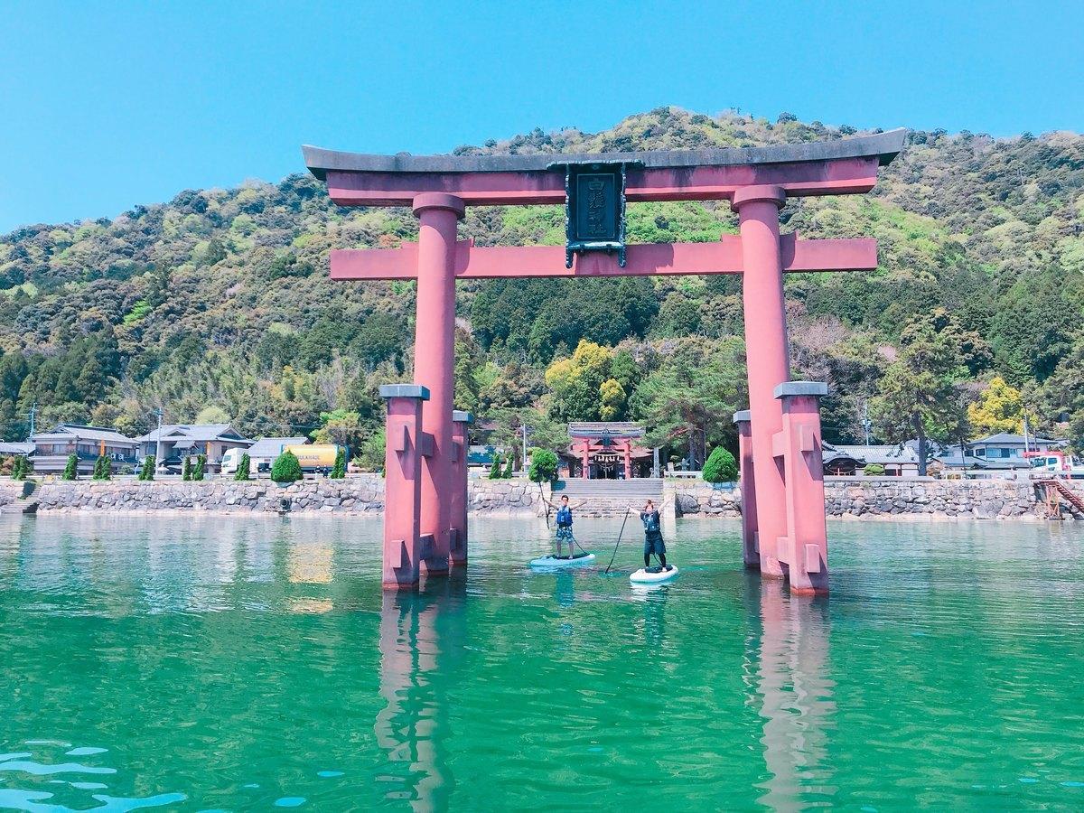 琵琶湖 SUPツアー
