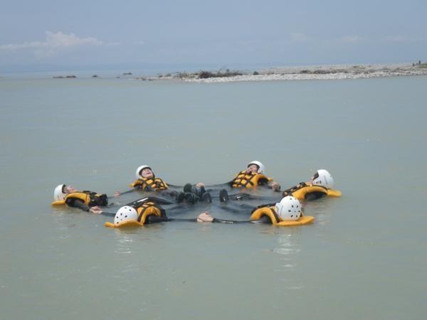 下流コース:ロングコースは海まで下ることも。海に出た時の解放感はたまりません。