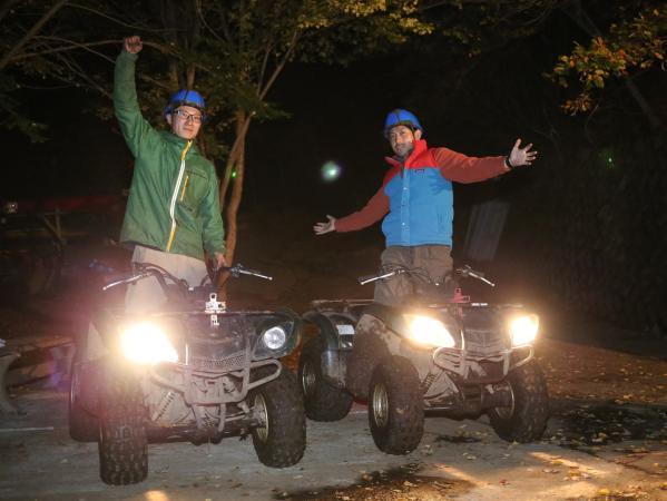 河口湖エリア ATV四輪バギーツアー