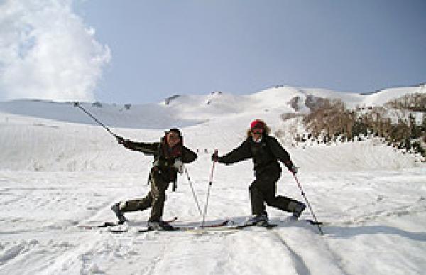 白馬歩くスキーツアー