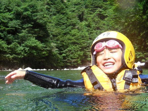 神崎川 キャニオンスイミングツアー