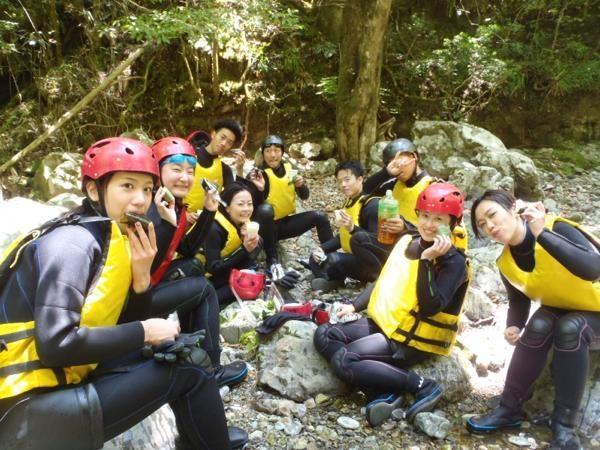 奈良キャニオニング&シャワークライミングツアー