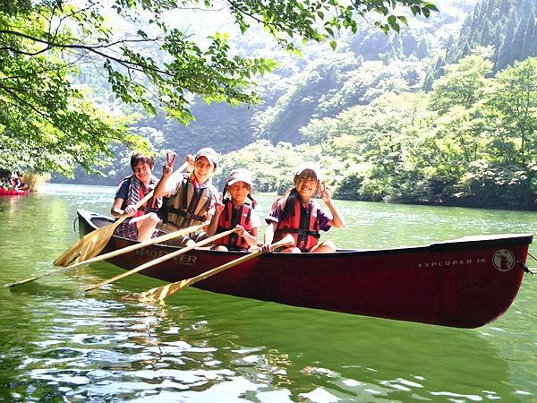 新見・おおさ カヌー・カヤックツアー(湖)