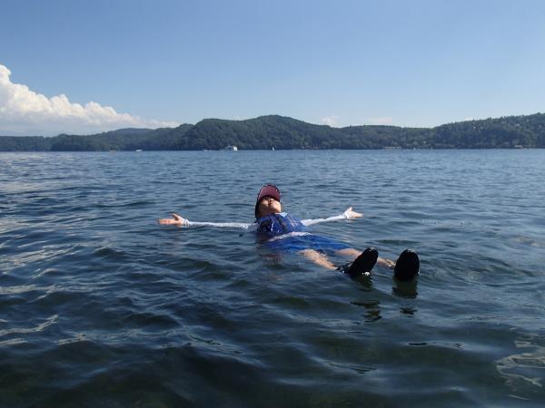 暑い日には、水遊びだってできちゃいます!