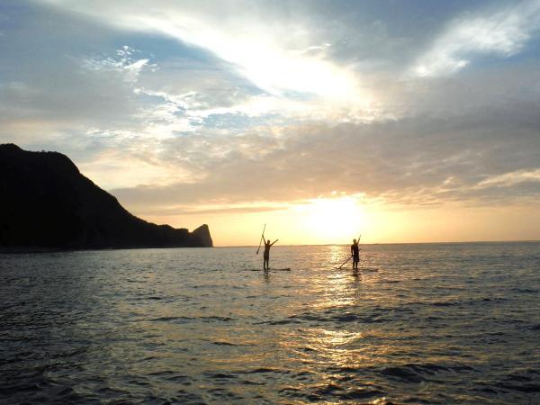 沖縄本島 嘉陽・瀬底島SUPクルージング