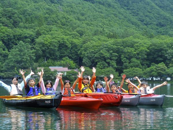 四尾連湖カヌーツアー (カヤック)