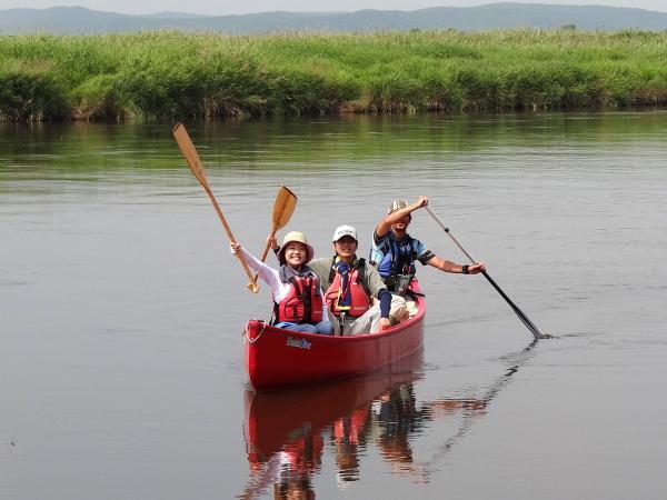 釧路湿原 カナディアンカヌーツアー