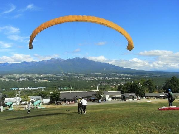 富士見 パラグライダー