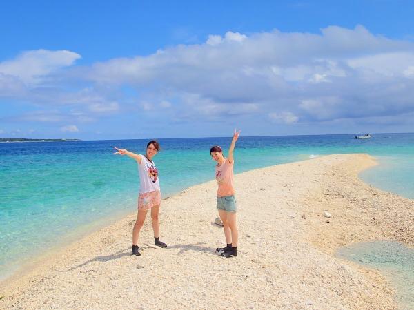 サンゴでできた人気のバラス島に上陸!