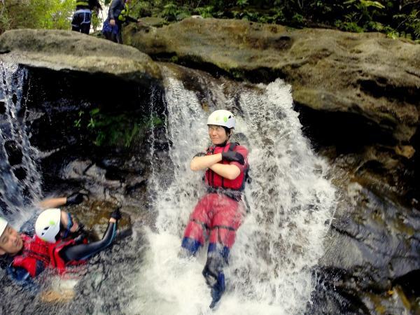 飛び込みは何度も体験できます。