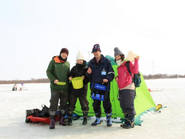 札幌 石狩エリア ワカサギ釣り