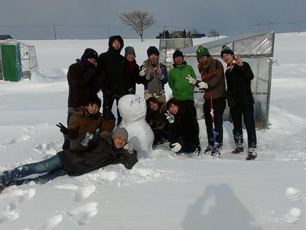 雪遊びもできちゃう!