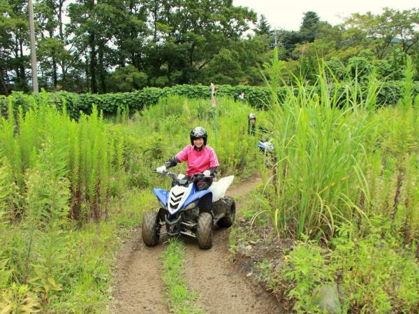 富士川エリア ATV4輪バギー