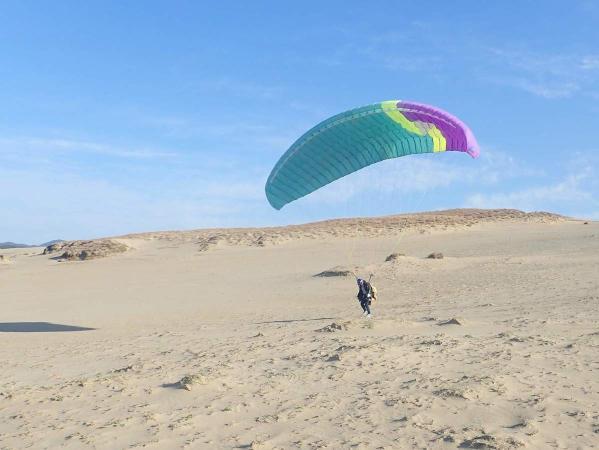 自分の力で飛ぶ楽しさを感じます。