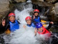 緑豊かな沢を登ったり、泳いだり、流されたり…思いっきり楽しみましょう。