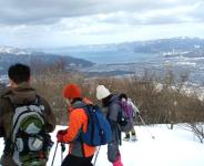 中央分水嶺ならでは《日本海》と《びわ湖》が同時に見れるかも!!(※芦生&三国峠登頂コース)